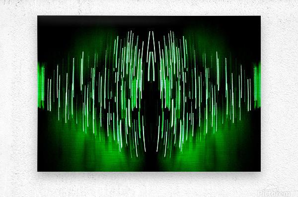Lights45  Metal print
