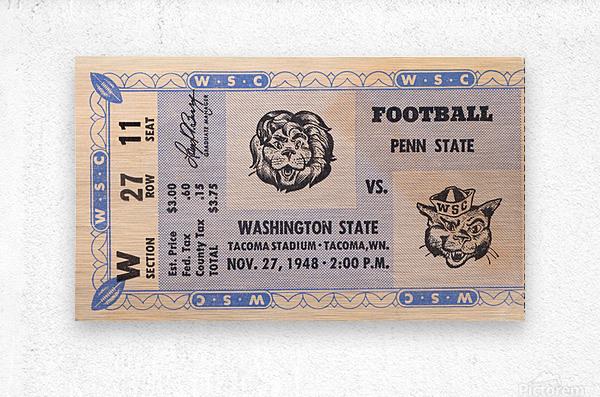 1948 Washington State vs. Penn State  Metal print