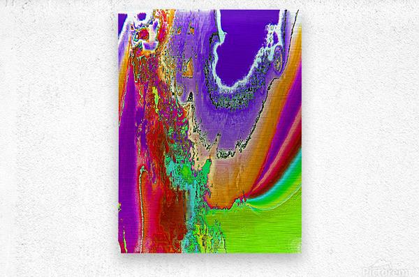 Sacred colors  Metal print