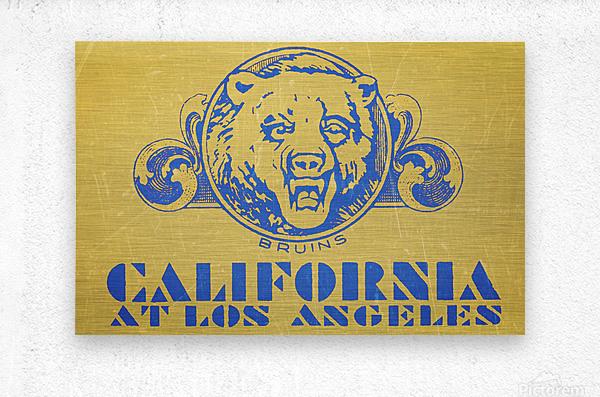 1938 California at Los Angeles  Metal print