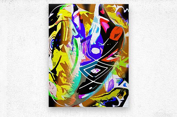 D M T  Metal print