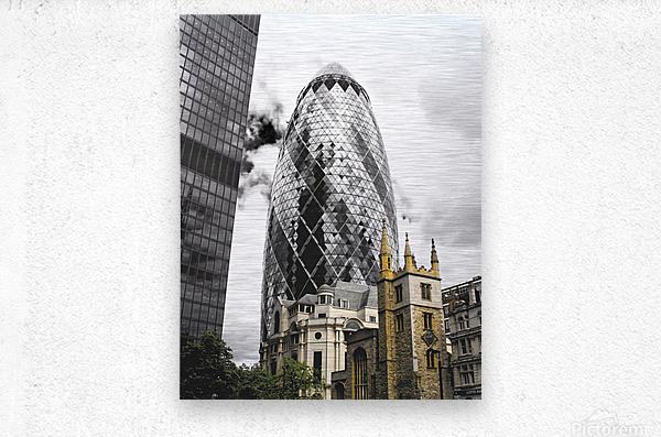 The Skyscraper  Impression metal