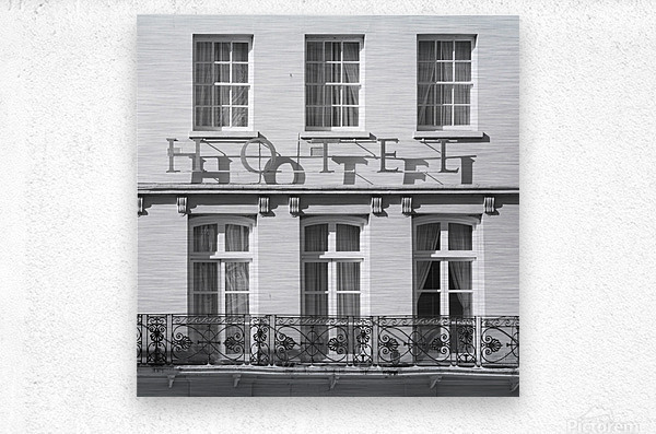 Hotel in Windosr  Metal print