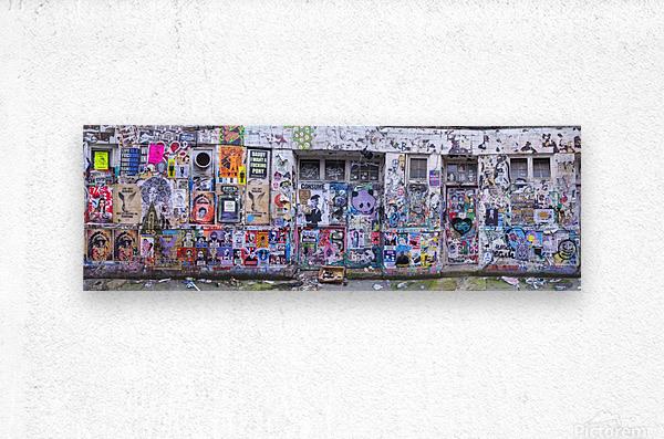 Graffiti, Brick Lane, London  Metal print
