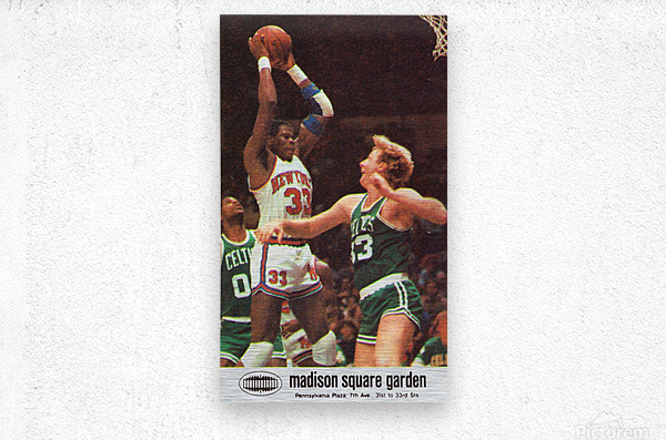 1986 New York Knicks  Metal print