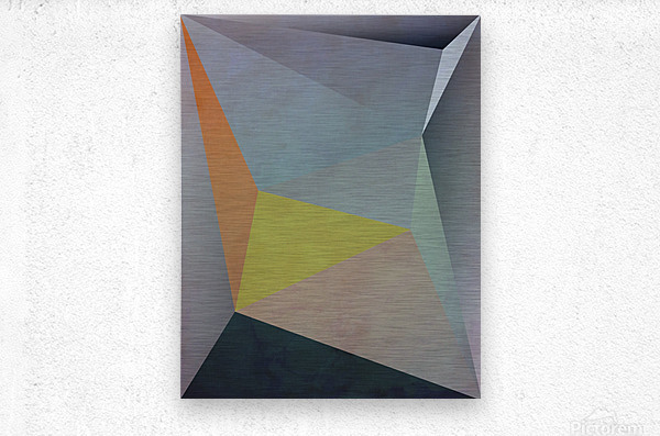 Abstract Composition 1137  Metal print