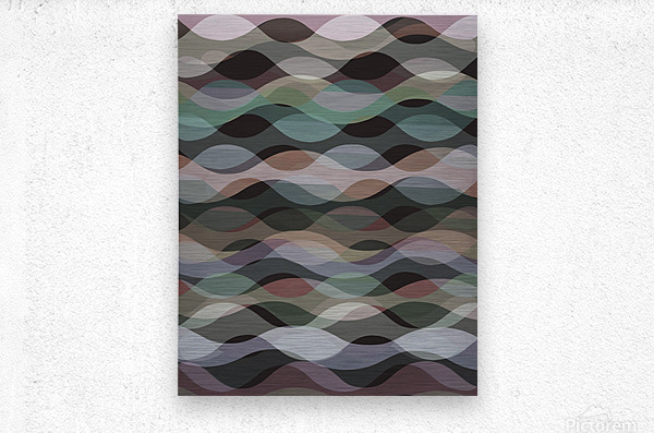 Abstract Composition 1127  Metal print