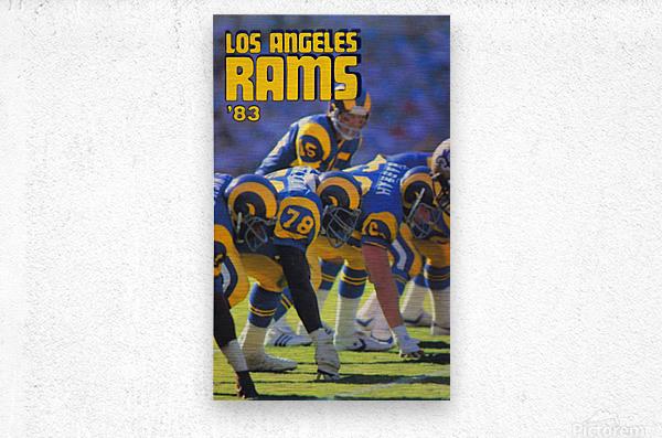 1983 Los Angeles Rams  Metal print