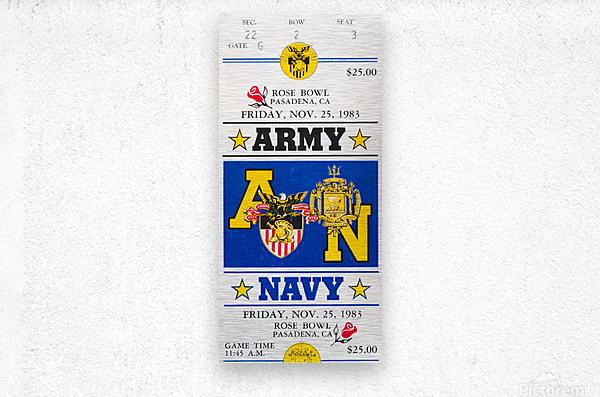 1983 Army vs. Navy  Metal print