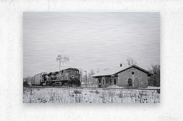 Napanee Station  Metal print