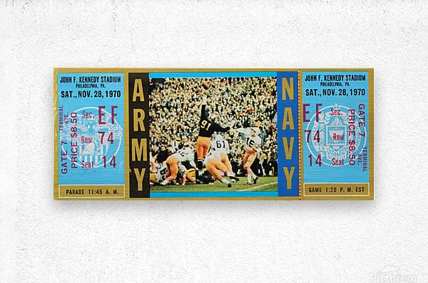 1970 Army vs. Navy  Metal print