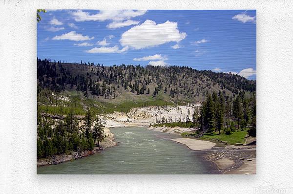 Yellowstone National Park 3  Metal print