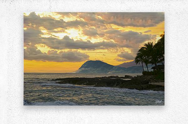 Beautiful Hawaii  Metal print
