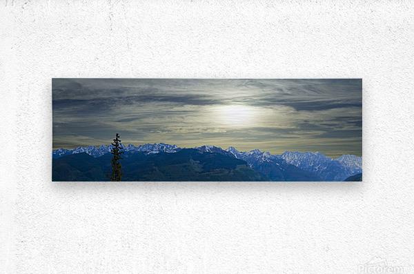 Hike Colorado  Metal print