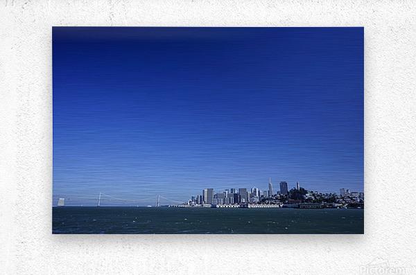 The Bay @ San Francisco  Metal print