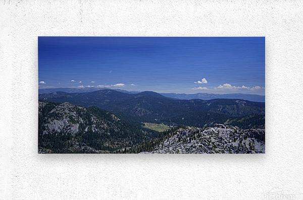 Sierra Nevada in Spring 1 of 8  Metal print