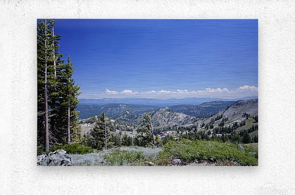 Sierra Nevada in Spring 2 of 8  Metal print
