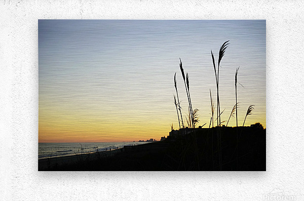 Atlantic Sunset @ Myrtle Beach  Metal print