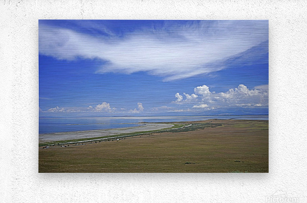 The Great Salt Lake 7 of 7  Metal print