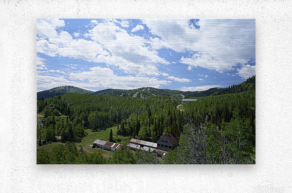 Back Country Utah 1 of 6  Metal print