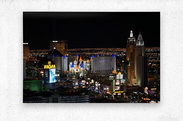 Viva Las Vegas  Metal print