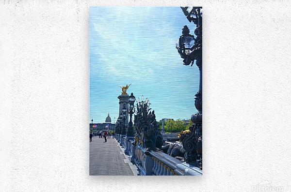Immortal Paris 4 of 7  Metal print