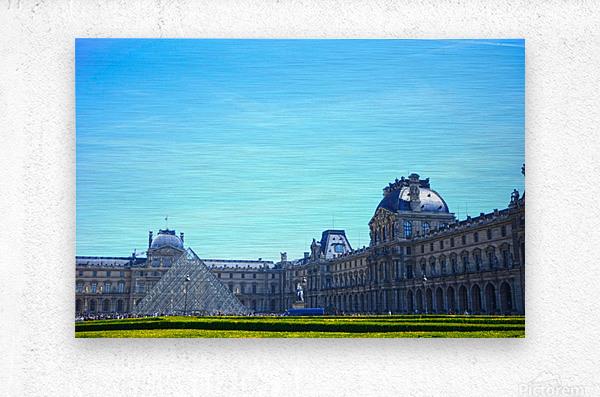 Paris Snapshot in Time 1 of 8  Metal print