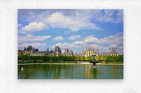 Chateaus of France 4  Metal print