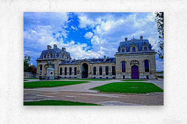 Chateaus of France 7  Metal print
