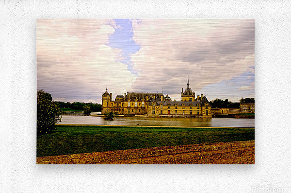 Chateaus of France  Metal print