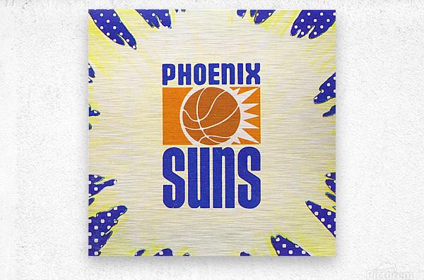 1988 Phoenix Suns Art  Metal print
