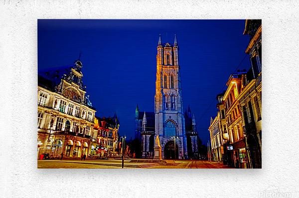 Beautiful Belgium 2 of 7  Metal print