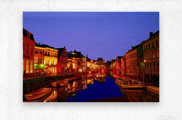 Beautiful Belgium 6 of 7  Metal print