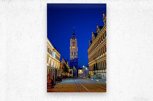 Beautiful Belgium 4 of 7  Metal print