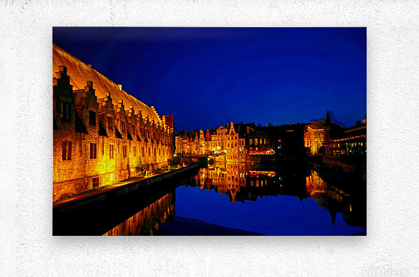 Beautiful Belgium 5 of 7  Metal print