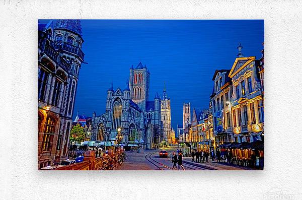 Beautiful Belgium 1 of 7  Metal print