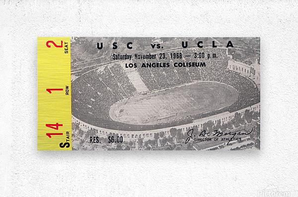 1968 UCLA vs. USC  Metal print