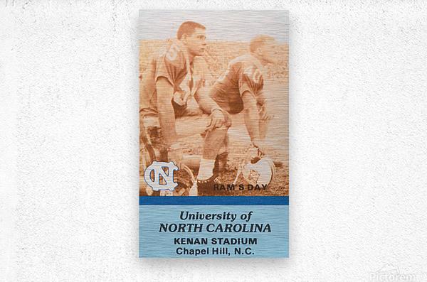 1988 North Carolina  Metal print