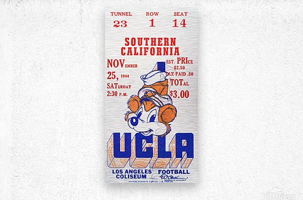 1944 USC vs. UCLA  Metal print