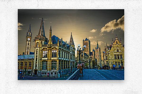 Passport to Belgium 2 of 5  Metal print