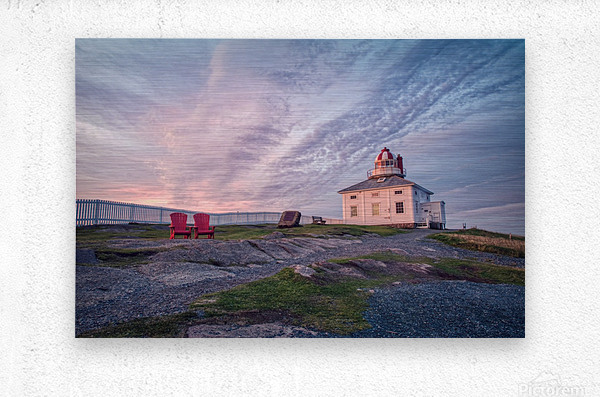 Cape Spear Sunrise  Metal print