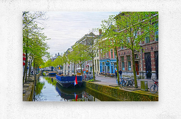 A Dream of the Netherlands 3 of 4  Metal print