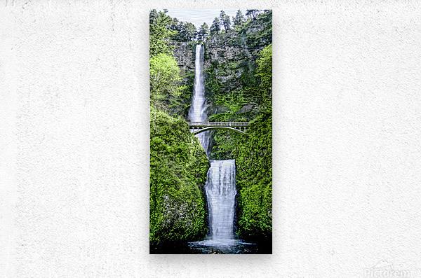 I Dreamed of Waterfalls  Metal print