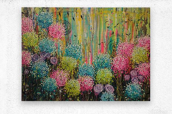 Flower Candy   Metal print