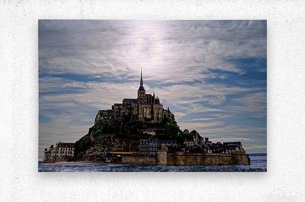 Mount Saint Michael The Fires of Heaven  Metal print