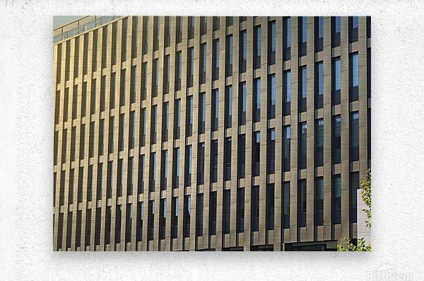 buildings windows   Metal print