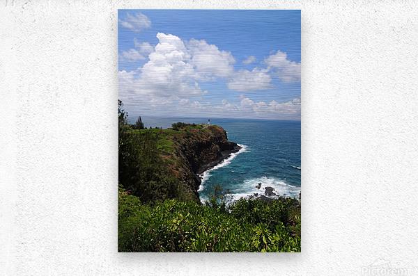Kauai Lighthouse  Metal print