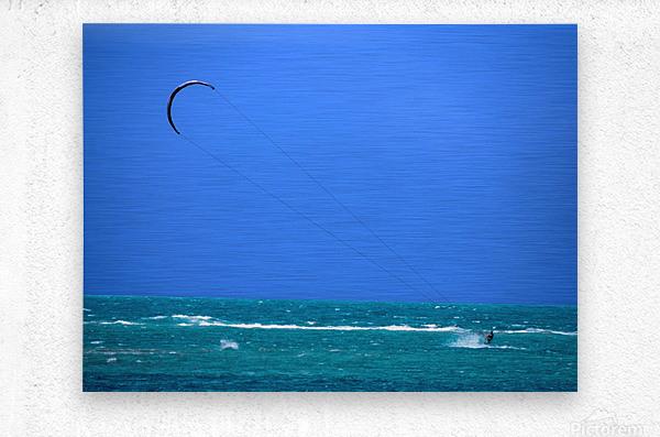 Wind Surf Hawaii  Metal print