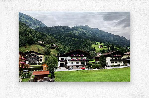 Hofgastein Dolomities Alpen  Metal print