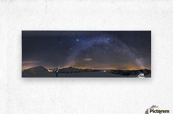 Under the Starbow by Dr. Nicholas Roemmelt  Metal print
